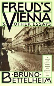 Cover of: Freud's Vienna and other essays