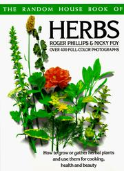 Cover of: The Random House book of herbs