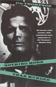 Cover of: Nothing More than Murder