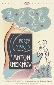 Cover of: Forty stories | Антон Павлович Чехов