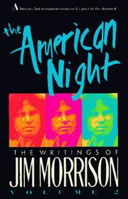 Cover of: The American night