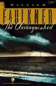 Cover of: The unvanquished