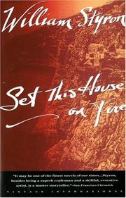 Cover of: Set This House on Fire