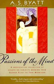 Cover of: Passions of the mind: selected writings