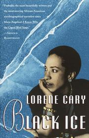 Cover of: Black ice | Lorene Cary