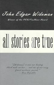 Cover of: All stories are true
