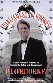 Cover of: Parliament of whores