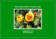 Cover of: National Audubon Society Pocket Guide to Familiar Cacti (The Audubon Society Pocket Guides) (The Audubon Society Pocket Guides)
