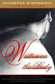 Cover of: Written on the Body