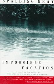 Cover of: Impossible vacation