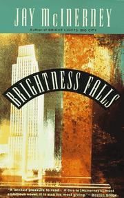 Cover of: Brightness falls | Jay McInerney