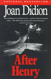 Cover of: After Henry