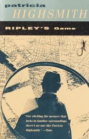 Cover of: Ripley's game