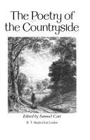 Cover of: The Poetry of the countryside |