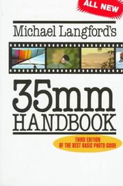 Cover of: 35 MM handbook