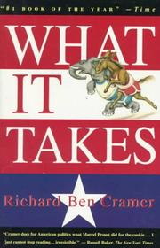 Cover of: What it takes | Richard Ben Cramer