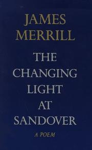Cover of: The Changing Light at Sandover