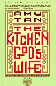 amy tans the kitchen gods wife essay Amy tan is the author of the valley of amazement, the joy luck club, the kitchen god's wife, the hundred secret senses, the bonesetter's daughter.