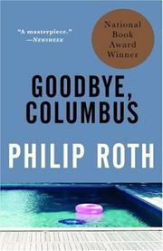 Cover of: Goodbye, Columbus and five short stories