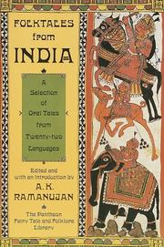 Cover of: Folktales from India