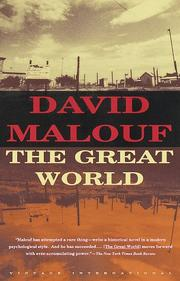 Cover of: The great world: a novel