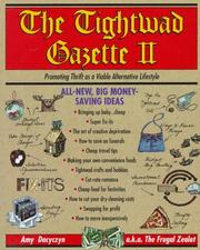 Cover of: The Tightwad gazette II