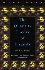 Cover of: The quantity theory of insanity
