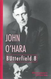 Cover of: Butterfield 8