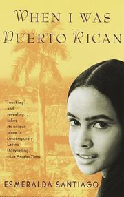 Cover of: When I was Puerto Rican