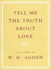 Cover of: Tell Me the Truth About Love