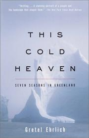 Cover of: This Cold Heaven | Gretel Ehrlich