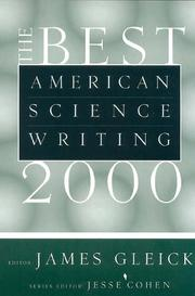 Cover of: The Best American Science Writing 2000 |
