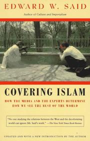 Cover of: Covering Islam | Edward W. Said