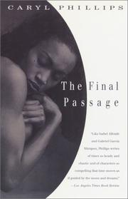 Cover of: The final passage