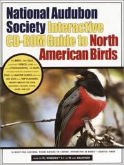 Cover of: The National Audubon Society Interactive CD-ROM Guide to North American Birds (National Audubon Society Interactive CD-ROM Series)