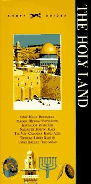 Cover of: Knopf Guide to The Holy Land