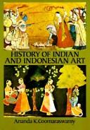 Cover of: History of Indian and Indonesian art