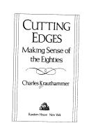 Cover of: Cutting Edges