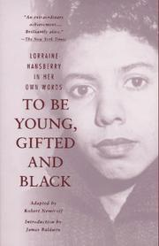 Cover of: To Be Young, Gifted and Black | Lorraine Hansberry