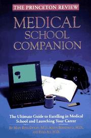 Cover of: Medical school companion