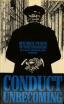 Cover of: Conduct unbecoming