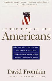 Cover of: In The Time Of The Americans | David Fromkin