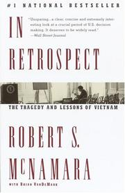 Cover of: In retrospect