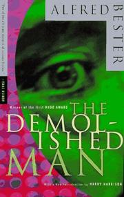 Cover of: The Demolished Man | Alfred Bester