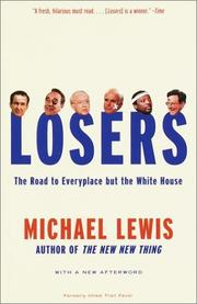 Cover of: Losers: the road to everyplace but the White House
