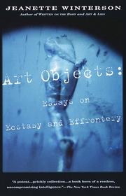 Art Objects by Jeanette Winterson
