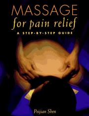 Cover of: Massage for pain relief