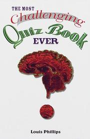 Cover of: The most challenging quiz book ever