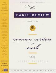 Cover of: Women Writers at Work