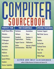 Cover of: Computer Sourcebook